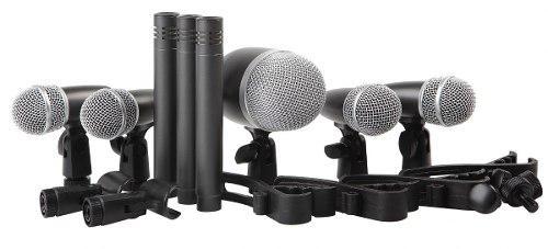 Set De Micrófonos Para Batería Dmh8xl Confirmar Existencia
