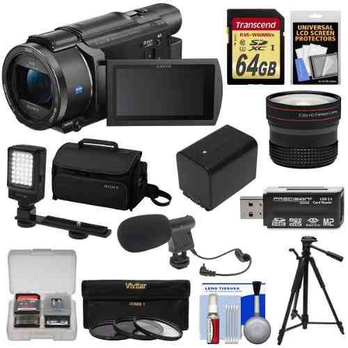 Sony Handycam Videocamara Fdr-ax53 Wi-fi 4k Ultra Hd