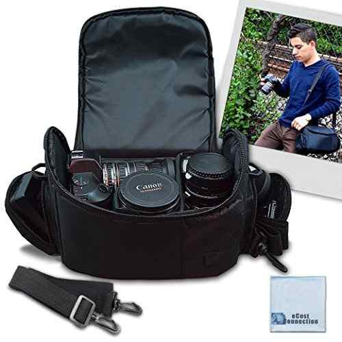 Videocamara Digital Grande Video Bolsa Estuche Acolchado