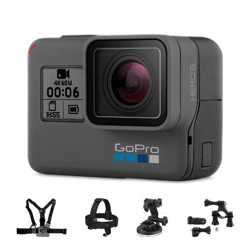 Videocamara Gopro Hero6 Black, Go Pro, + Accesorio De Regalo