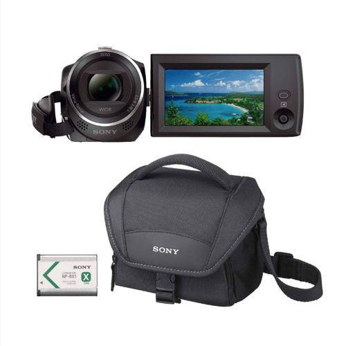 Videocamara Sony Handycam Cx-405 + Estuche Y Bateria Adicion