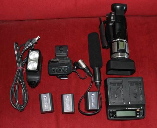 Videocamara Sony Hd.hvr-a1u Mini Dv
