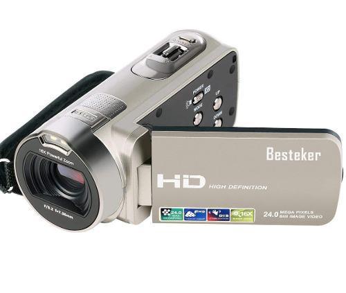 Videocámara Besteker Ir Noche Visión 16x Hd 1080p Vídeo C