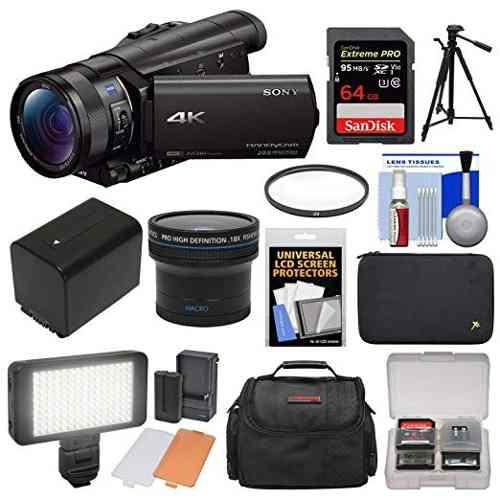 Videocámara De La Cámara De Video Sony Handycam Fdr-ax100