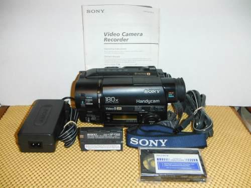 Videocámara Sony Handycam Video 8 Ccd-tr416 Nightshot (01)