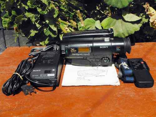 Videocámara Sony Handycam Video 8 Ccd-tr66 (01) * Detalle