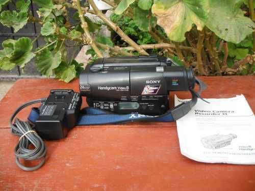 Videocámara Sony Handycam Video 8 Ccd-tr93 (01)