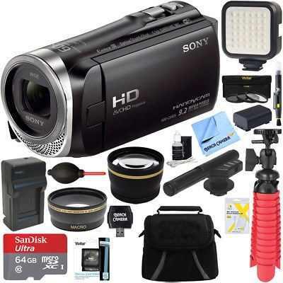 Videocámara Sony Hdr-cx455/b Full Hd + Mini Zoom De