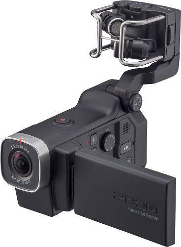Zoom - Videocámara Q8 Hd - Negro