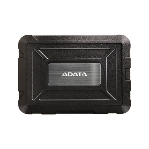 Carcasa Disco Duro Externo Usb 3.1 Ed600 Color Negro Adata