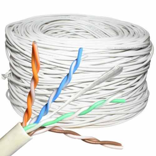 100 Metros Cable Red Utp Cat 5e Rj-45 Blanco