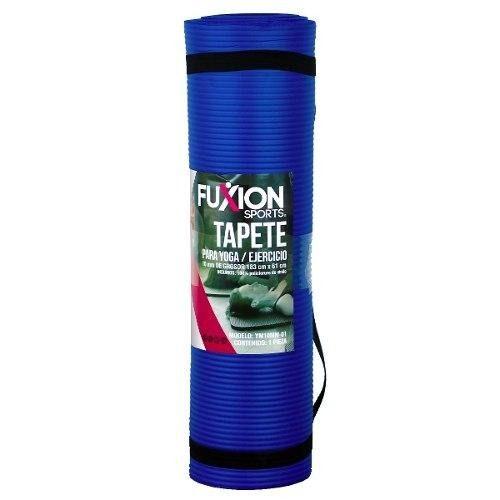 4 Tapetes Para Yoga/pilates 10 Mm Fuxion Sports