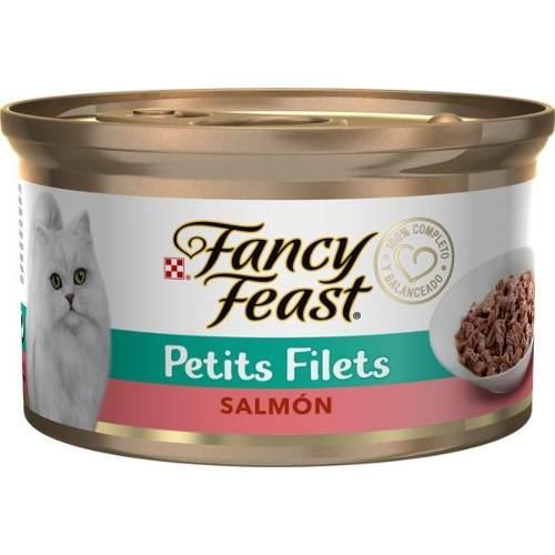 Alimento Para Gato Fancy Feast Petits Con Salmon 85 G