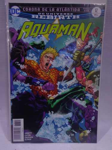 Aquaman Rebirth Vol.12 Dc Comic´s Televisa 2018