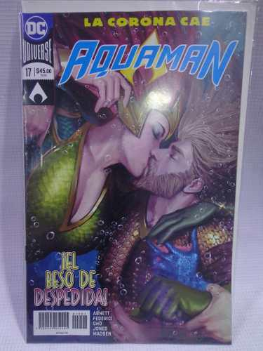 Aquaman Vol.17 Dc Comic´s Televisa 2019