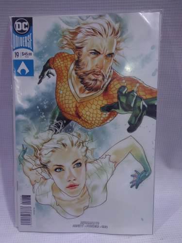 Aquaman Vol.19 Variante Dc Comic´s Televisa 2019