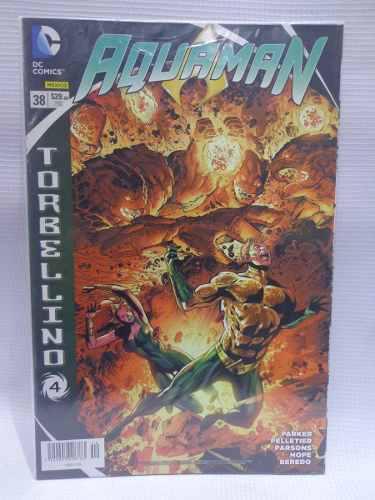 Aquaman Vol.38 Torbellino 4 Dc Comic´s Televisa 2015