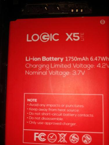 Bateria Logic X5. Y Otros De Diferentes Modelos