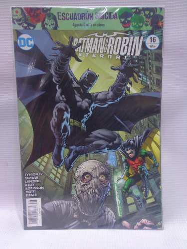Batman Y Robin Eternal Vol.16 Dc Comic´s Televisa 2016