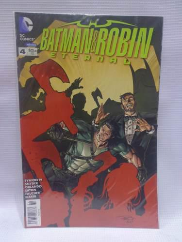 Batman Y Robin Eternal Vol.4 Dc Comic´s Televisa 2016