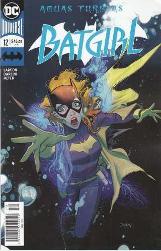 Cómic Dc Universe Rebirth Batgirl # 12 Nuevo Español