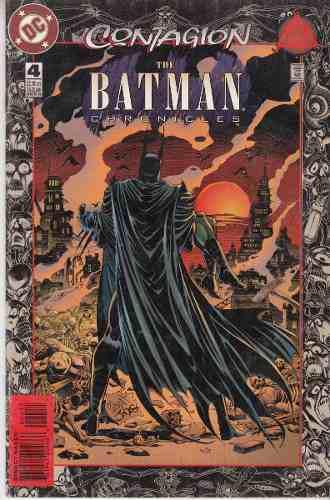Comic Batman Saga Contagio Cronicas Ingles Carton Y Bolsa