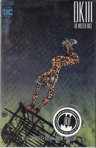 Comic Batman: The Dk3 The Master Race Tomo 5 Nuevo Español