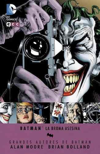 Comic Batman The Killing Joke Deluxe Nuevo Sellado Español