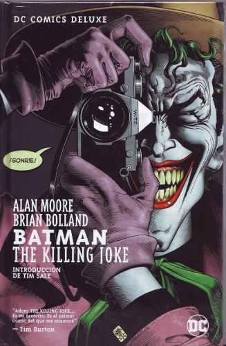 Comic Batman The Killing Joke Deluxe Sellado Español Latino
