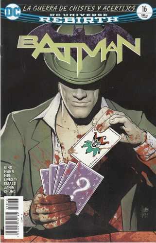 Comic Dc Universe Rebirth Batman # 16 Guerra De Chistes