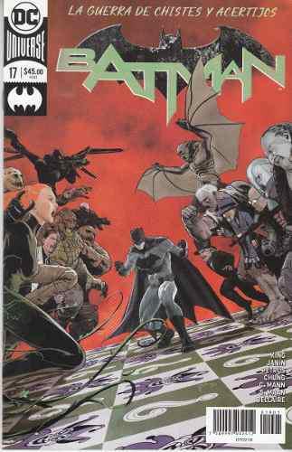 Comic Dc Universe Rebirth Batman # 17 Guerra De Chistes