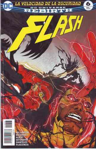 Comic Dc Universe Rebirth Flash # 06 Nuevo