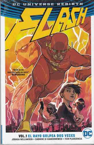 Comic Dc Universe Rebirth Flash Volumen 1 El Rayo Golpea