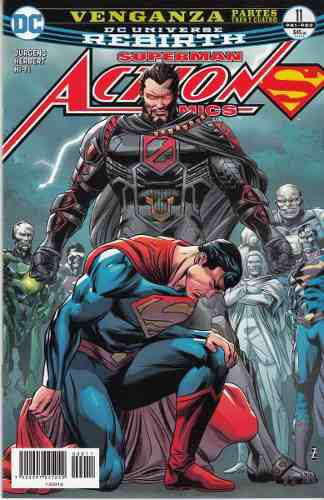 Comic Dc Universe Rebirth Superman Action Comics # 11 Nuevo