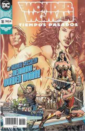 Comic Dc Universe Rebirth Wonder Woman # 18 Español Nuevo