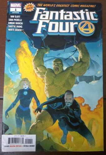 Comic Fantastic Four No.1 (ingles) El Regreso Marvel