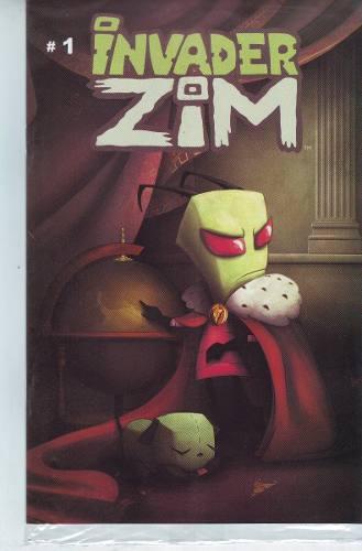 Comic Invader Zim Lote 01 - 13 Editorial Kamite Envío