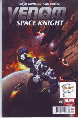 Comic Lote Venom Space Knight 09 Tomos Carton Y Bolsita