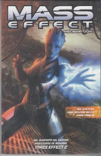 Comic Mass Effect Redemption Tomo Uno Español Mac Walters