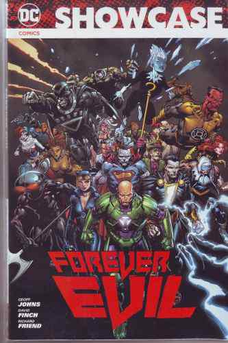 Comic Showcase Forever Evil Tomo Unico Español Sellado