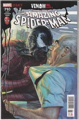 Comic The Amazing Spider-man # 793 Legacy Carton Y Bolsa