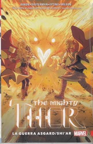 Comic The Mighty Thor Vol 3 La Guerra De Asgard Envio Gratis