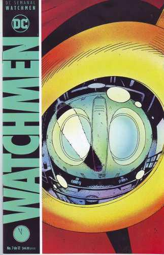 Comic Watchmen # 7 Español Carton Y Bolsa Gratis Alan Moore