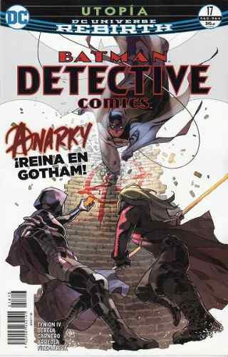 Comics Dc Universe Rebirth Batman Detective Comics 17 Nuevo