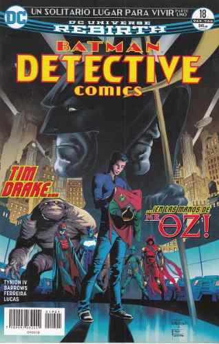 Comics Dc Universe Rebirth Batman Detective Comics # 18 Nuev