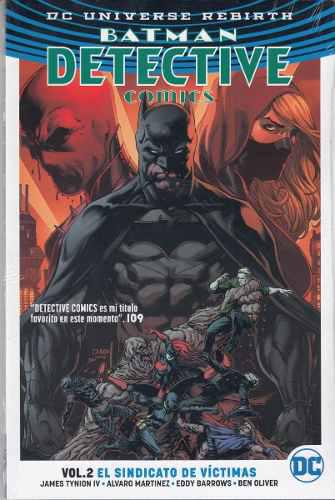 Comics Dc Universe Rebirth Batman Detective Comics Volumen 2