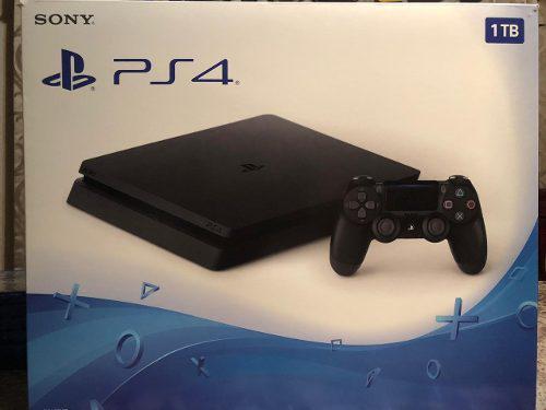 Consola Play Station 4 Ps4 1tb Seminuevo Con 6 Videojuegos