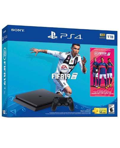 Consola Ps4 Slim 1tb Con Fifa 19 Nuevo