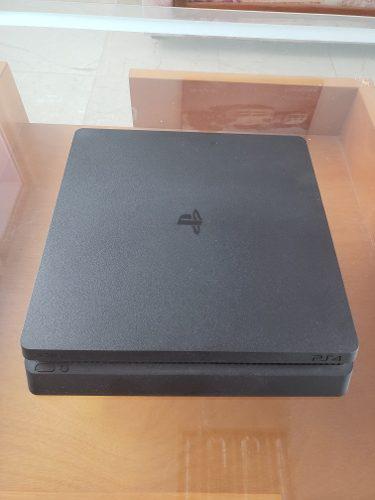 Consola Ps4 Slim 500gb + Control + 4 Juegos Todo Como Nuevo