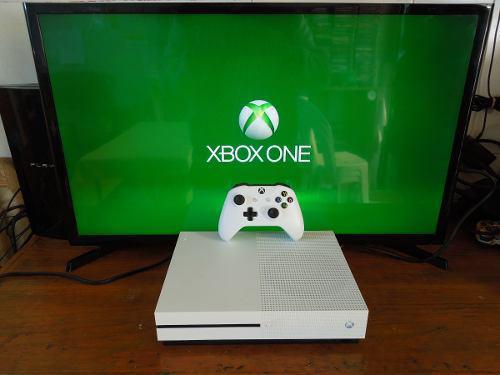 Consola Xbox One S 1 Tera Con 2 Juegos A Escoger